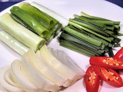 チヂミに使用する野菜