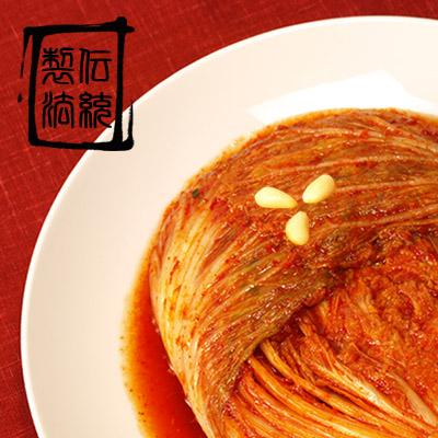 韓国トップブランドハンウルの白菜キムチは厳選野菜を5段階洗浄してから秘伝のヤンニョムで漬け込んでいます